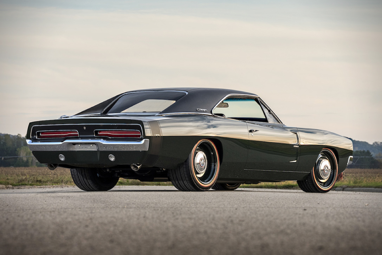 "'69 Dodge Charger ""Defector"" : Signée Ringbrothers... 2"