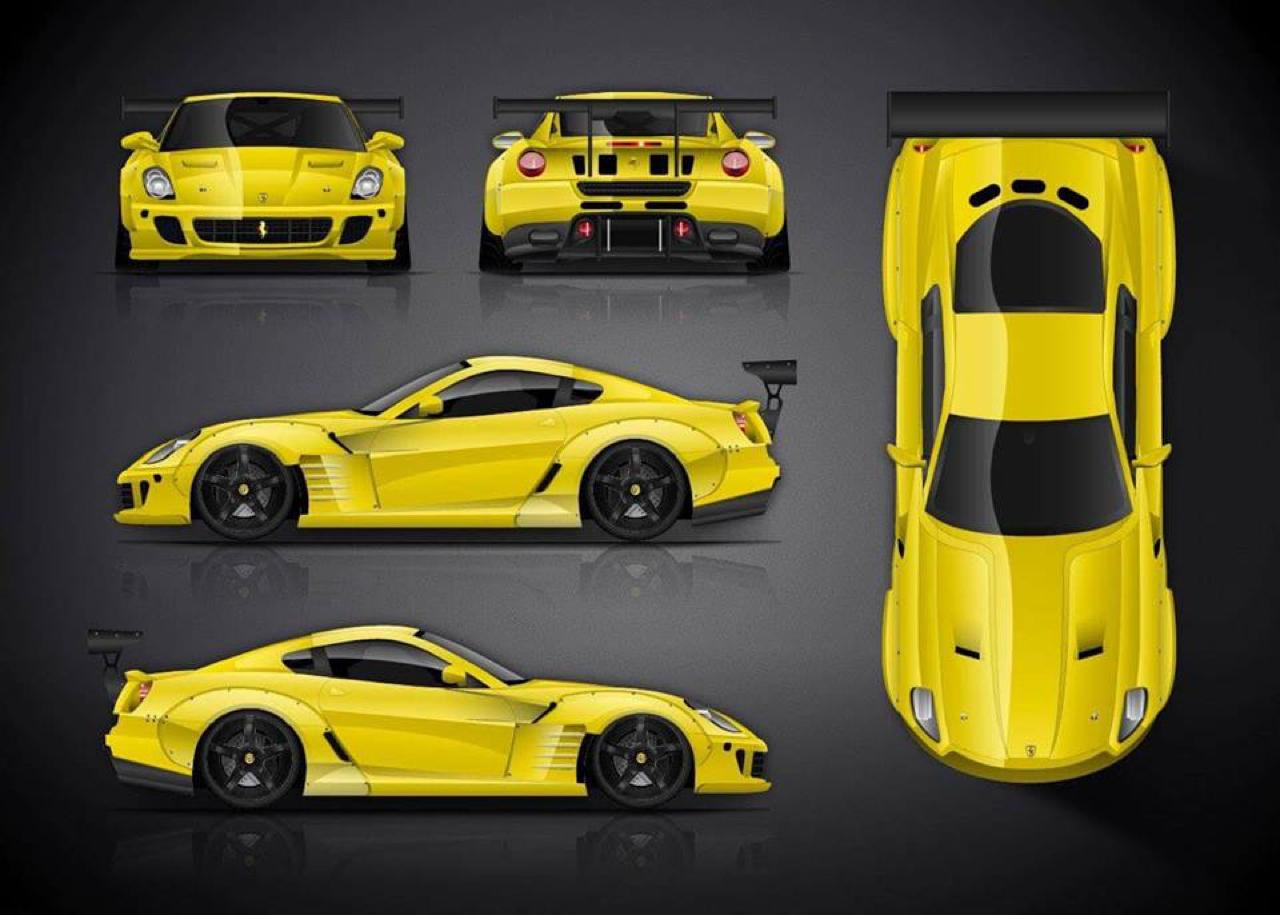 Du drift.... En Ferrari 599 GTB TwinRotrex pour 920 ch ! 23