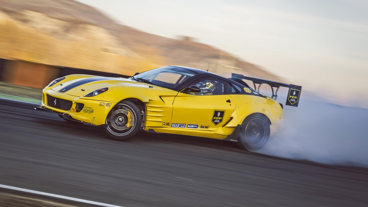 Du drift.... En Ferrari 599 GTB TwinRotrex pour 920 ch ! 25