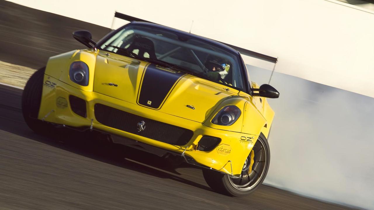 Du drift.... En Ferrari 599 GTB TwinRotrex pour 920 ch ! 29