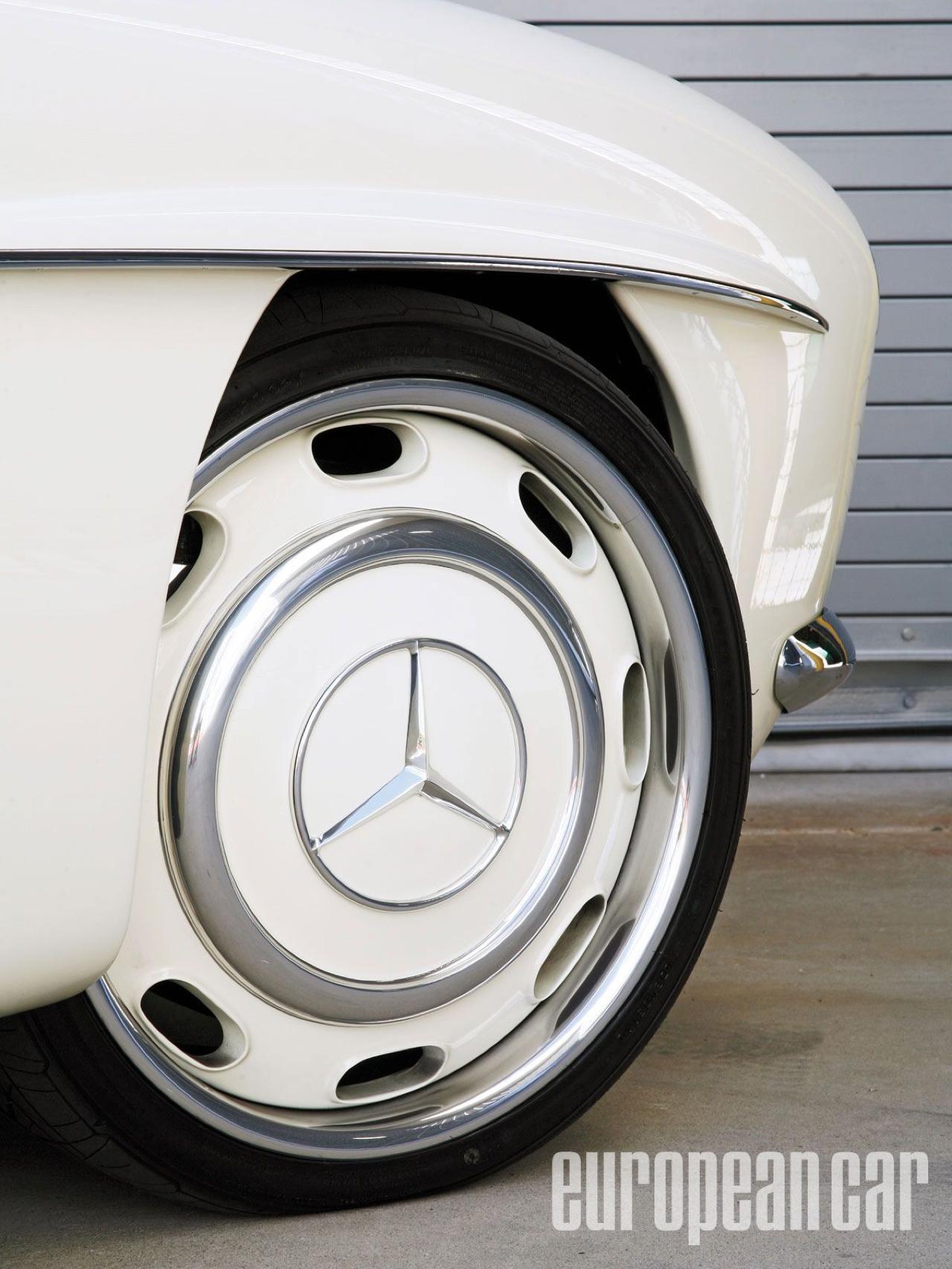 """'61 Mercedes 190 SL... La """"Mercedes Bent"""" un peu spéciale ! 41"""