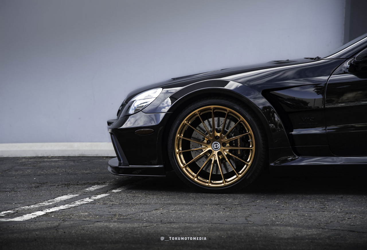 Mercedes SL65 AMG Black Serie - Unique en HRE ! 2