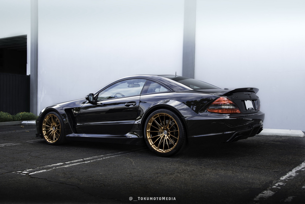 Mercedes SL65 AMG Black Serie - Unique en HRE ! 7