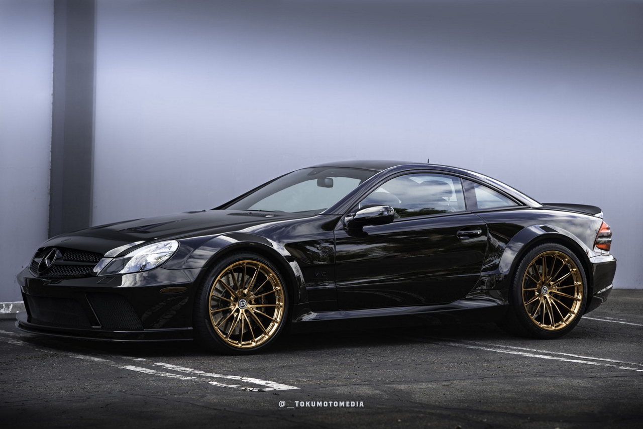 Mercedes SL65 AMG Black Serie - Unique en HRE ! 10