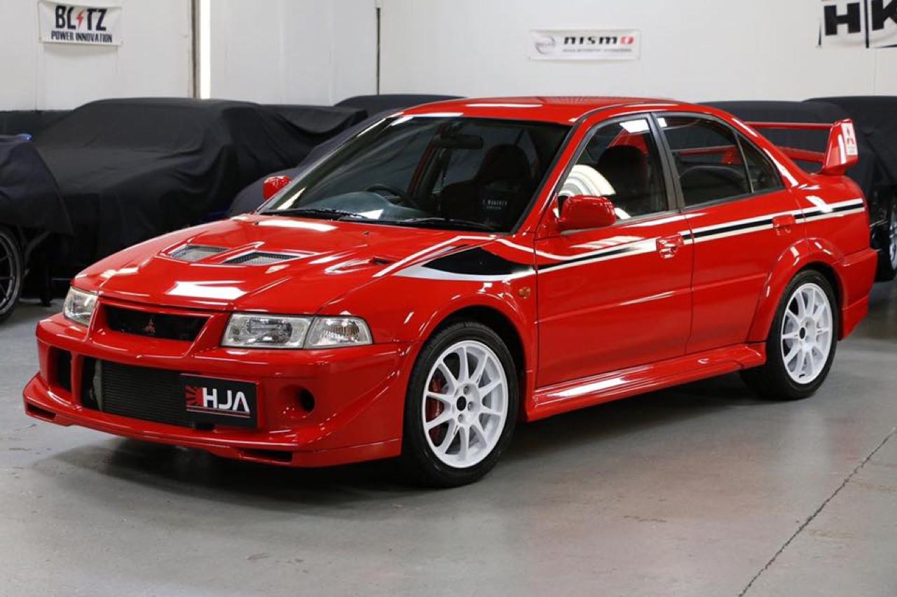 Mitsubishi Lancer Evo 6 Tommi Makinen Edition : ADN de championne 35