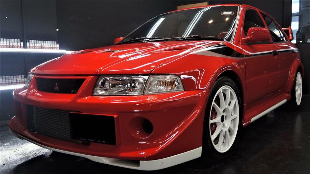 Mitsubishi Lancer Evo 6 Tommi Makinen Edition : ADN de championne 10
