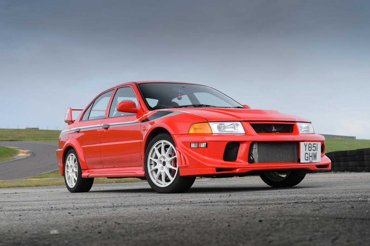 Mitsubishi Lancer Evo 6 Tommi Makinen Edition : ADN de championne 1