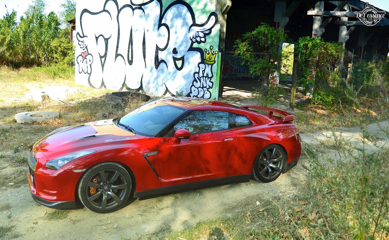 Nissan GTR R35 : Godzilla voit rouge ! 23