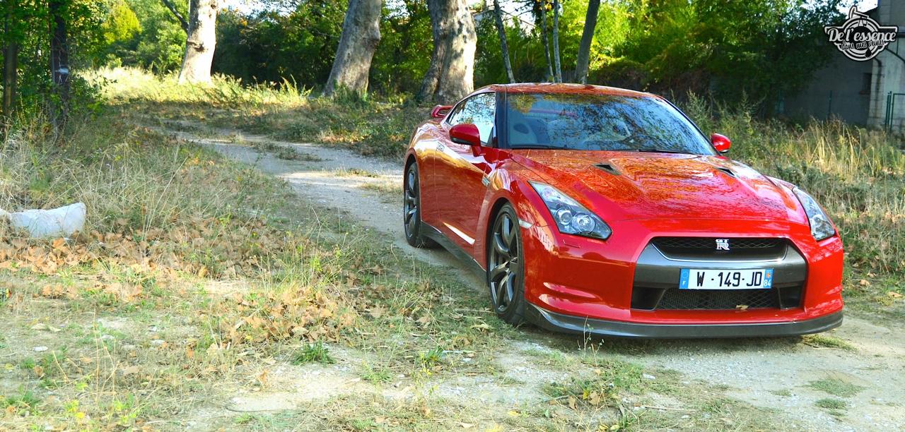 Nissan GTR R35 : Godzilla voit rouge ! 30