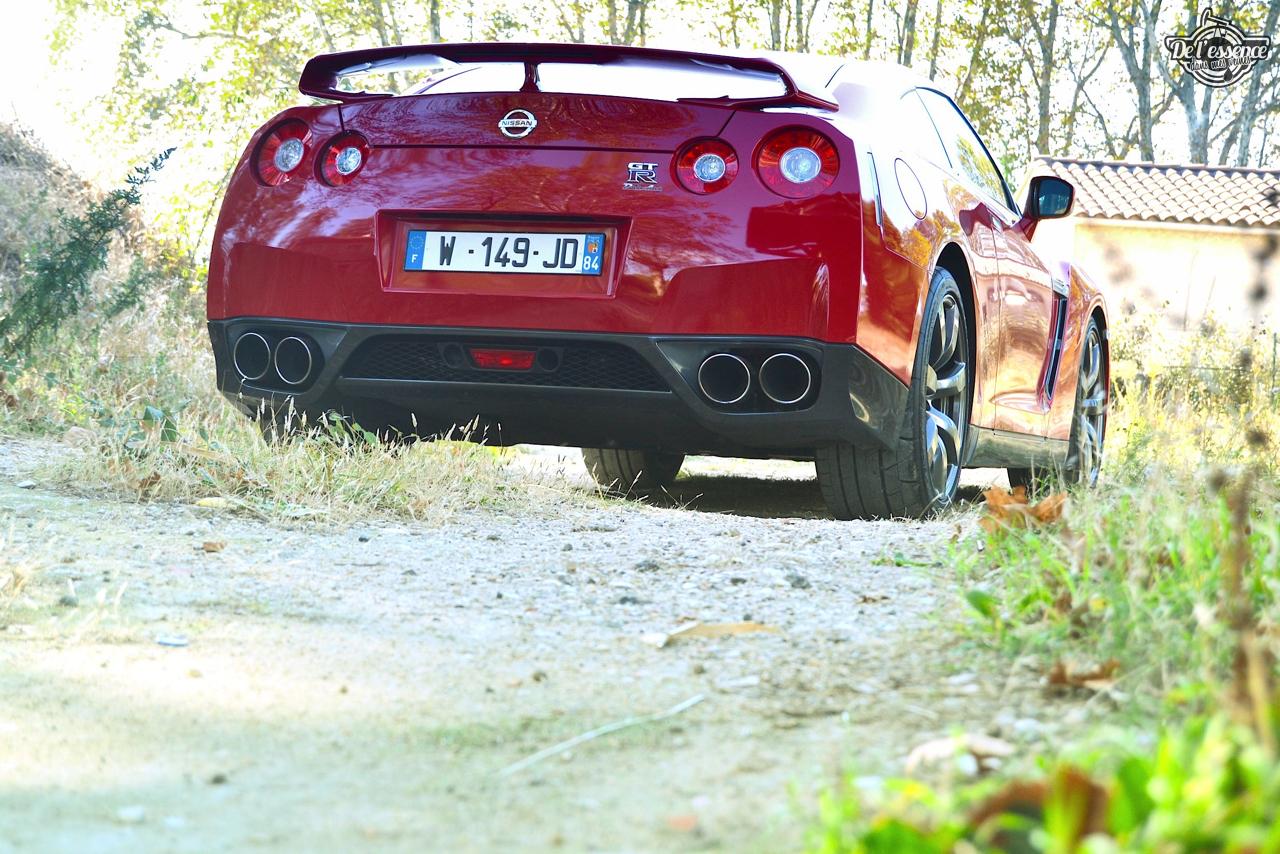 Nissan GTR R35 : Godzilla voit rouge ! 25