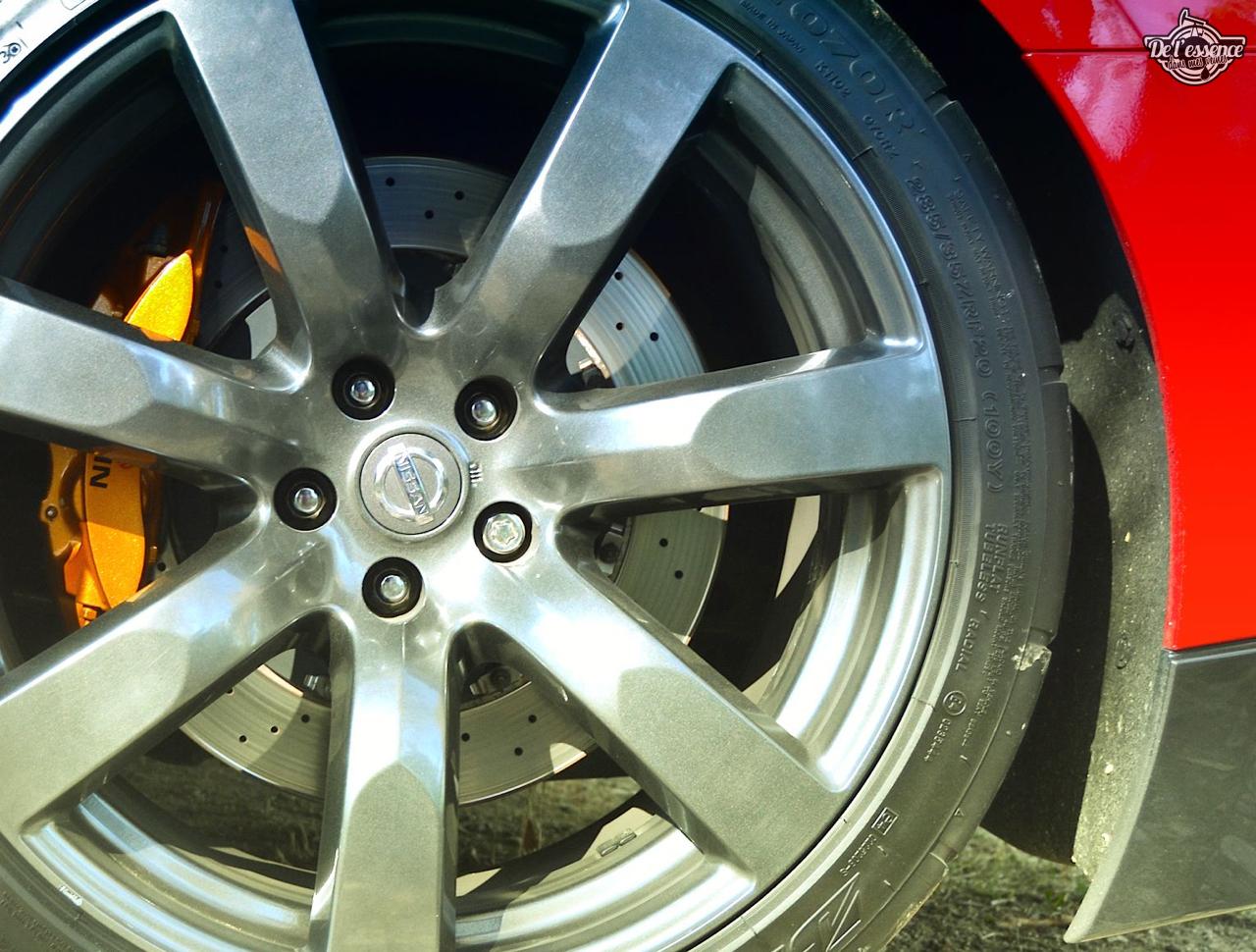 Nissan GTR R35 : Godzilla voit rouge ! 18