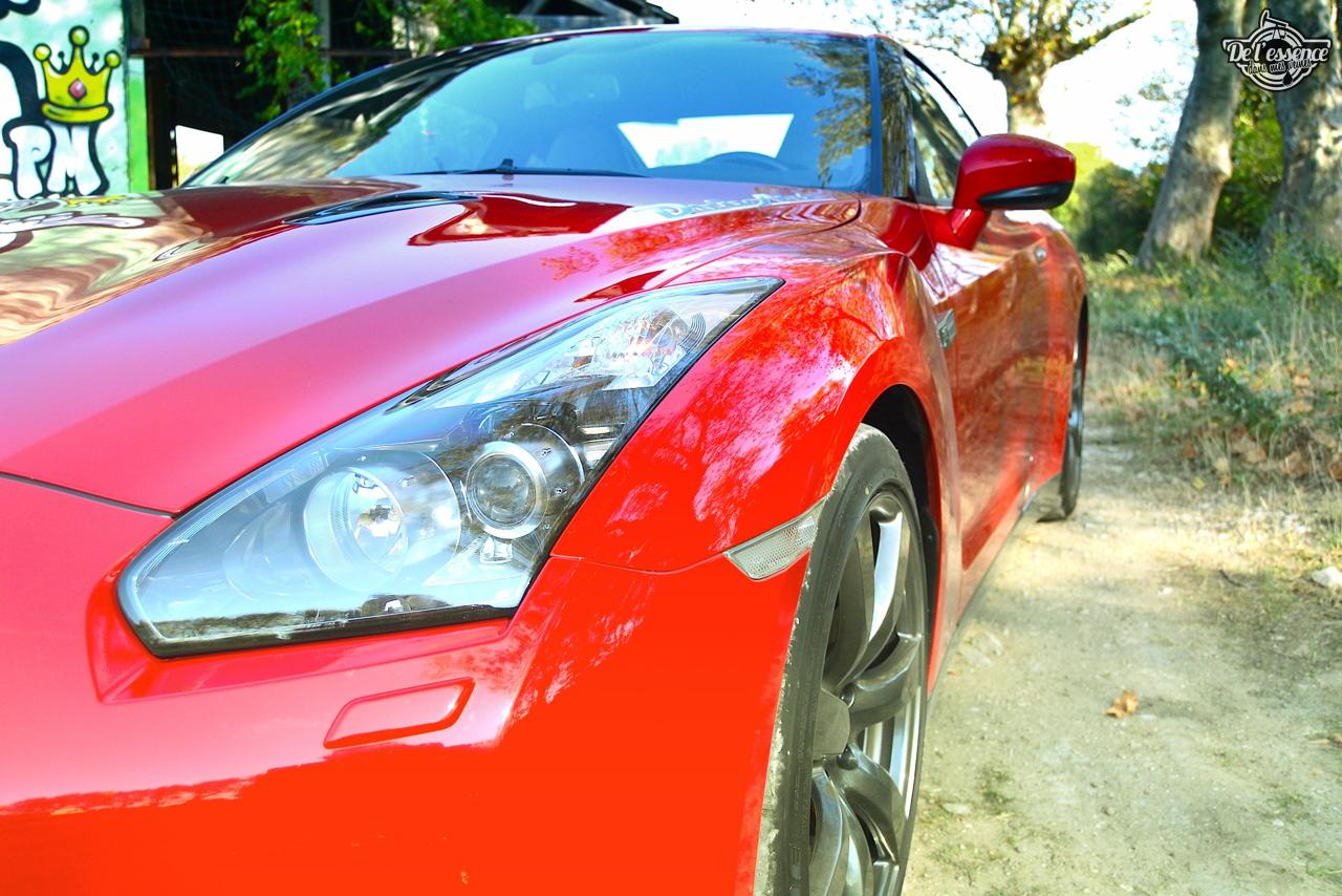 Nissan GTR R35 : Godzilla voit rouge ! 21