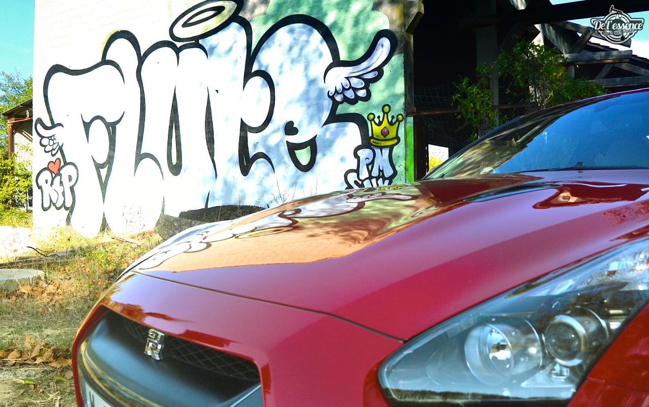 Nissan GTR R35 : Godzilla voit rouge ! 19