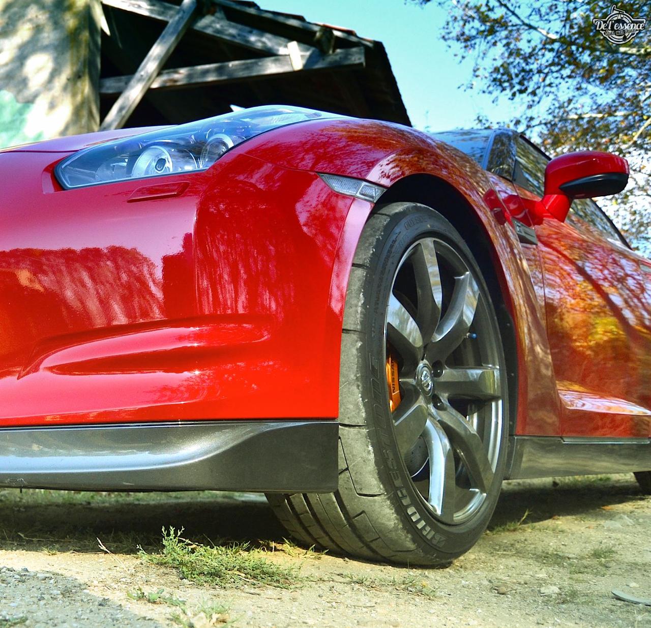 Nissan GTR R35 : Godzilla voit rouge ! 10