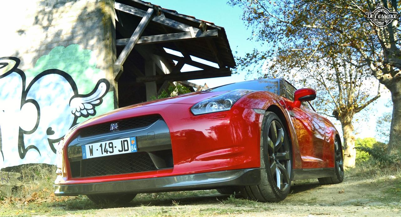 Nissan GTR R35 : Godzilla voit rouge ! 3