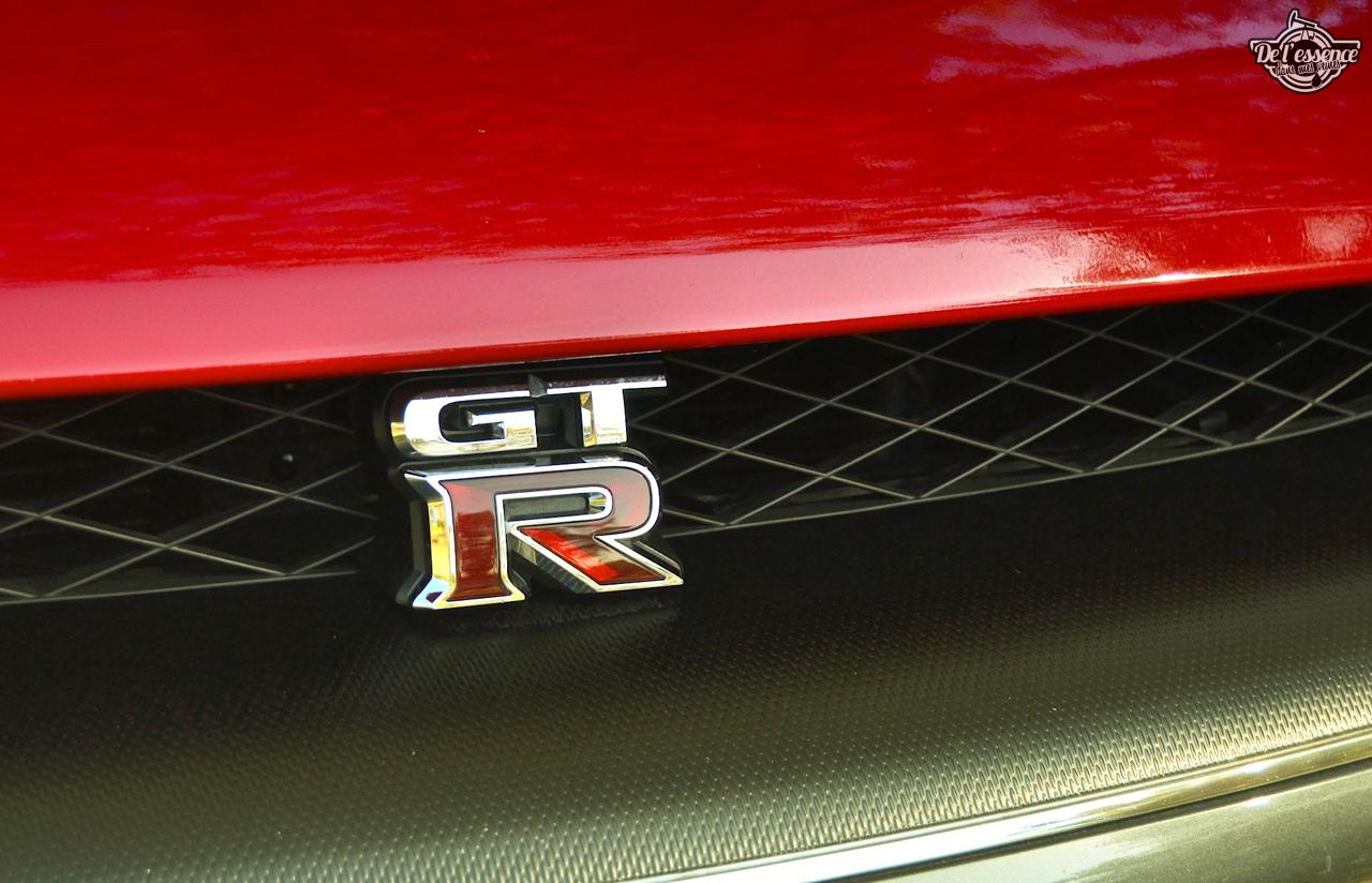 Nissan GTR R35 : Godzilla voit rouge ! 7