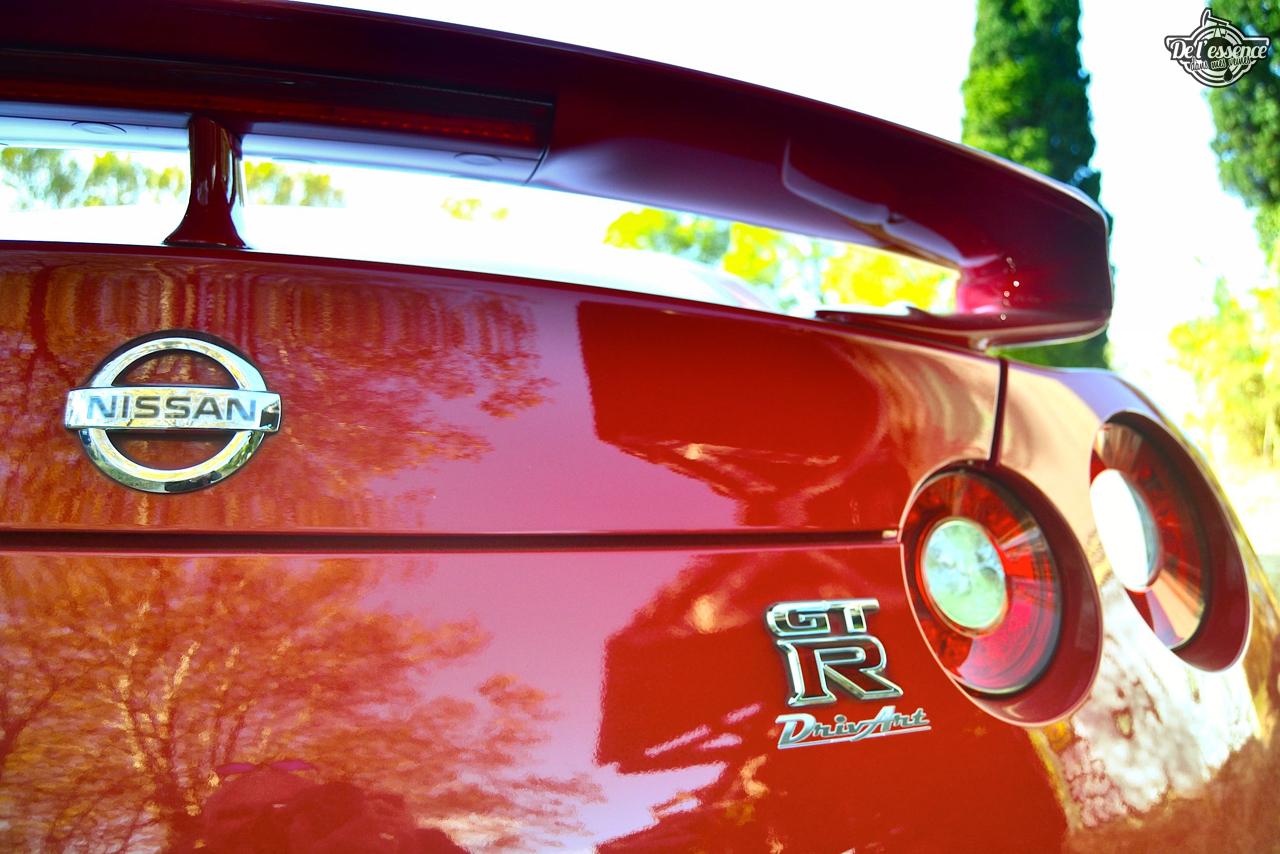 Nissan GTR R35 : Godzilla voit rouge ! 27