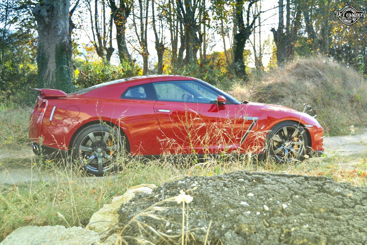Nissan GTR R35 : Godzilla voit rouge ! 8