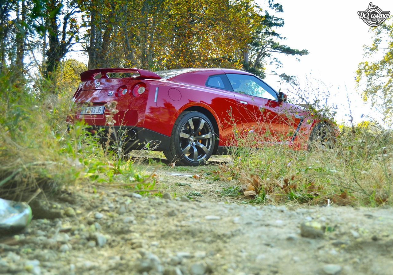 Nissan GTR R35 : Godzilla voit rouge ! 29