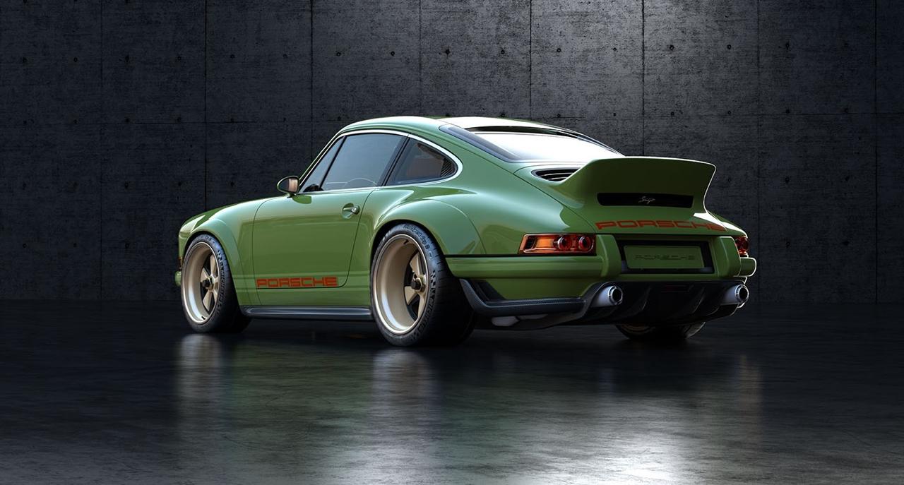Singer dehors, Williams dedans ! La Porsche 911 en mode tuerie ! 36