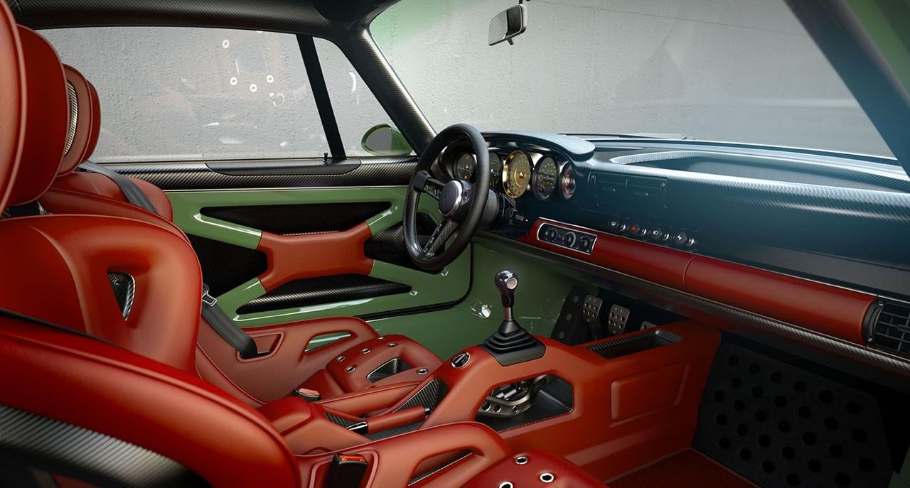 Singer dehors, Williams dedans ! La Porsche 911 en mode tuerie ! 44