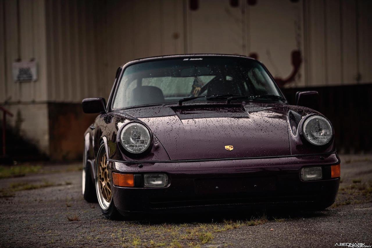 '91 Porsche 964 Carrera 2... Amethys rétine destruction ! 1