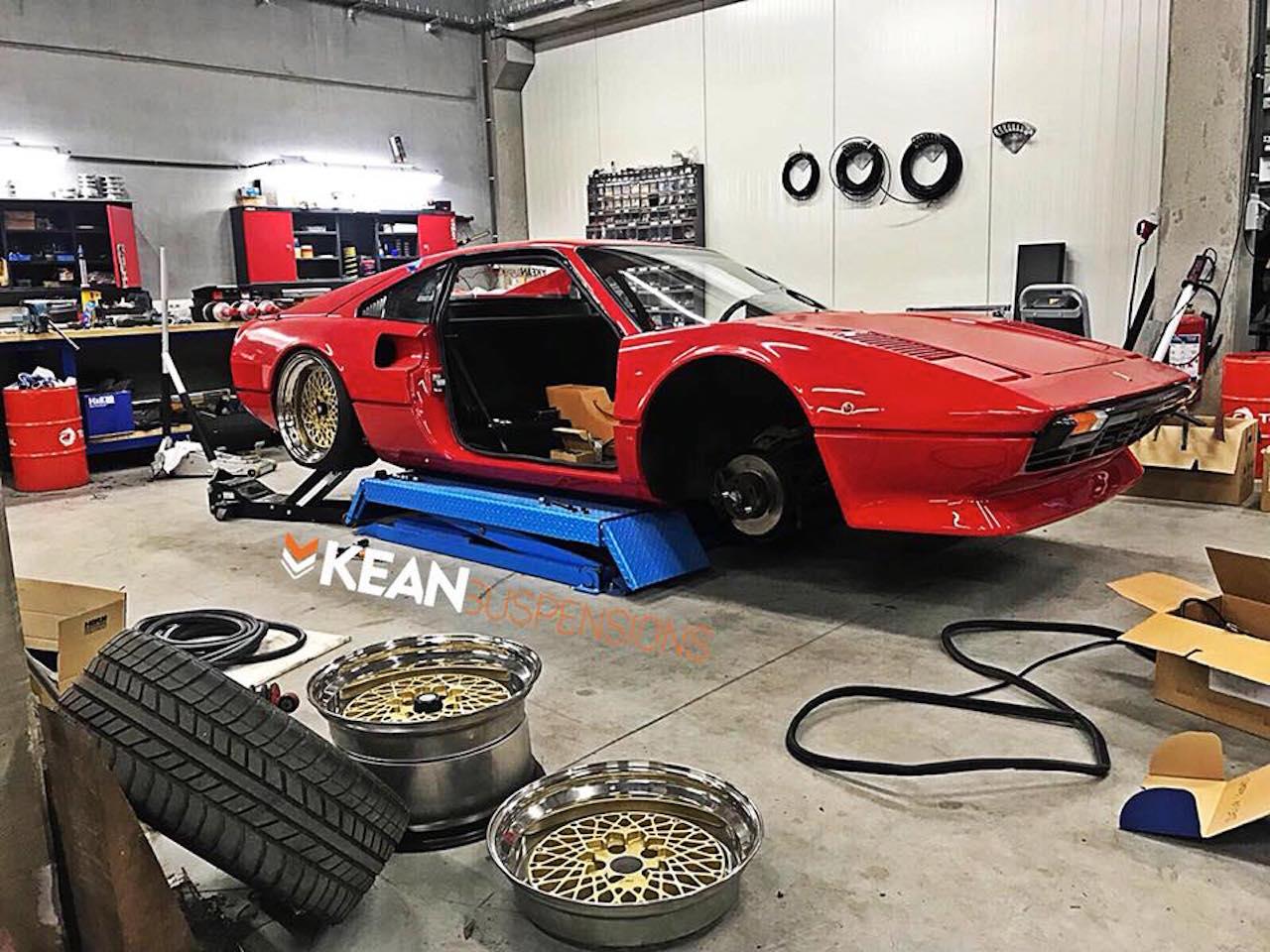 Bagged Ferrari 308 GTB... Air Magnum ! 26