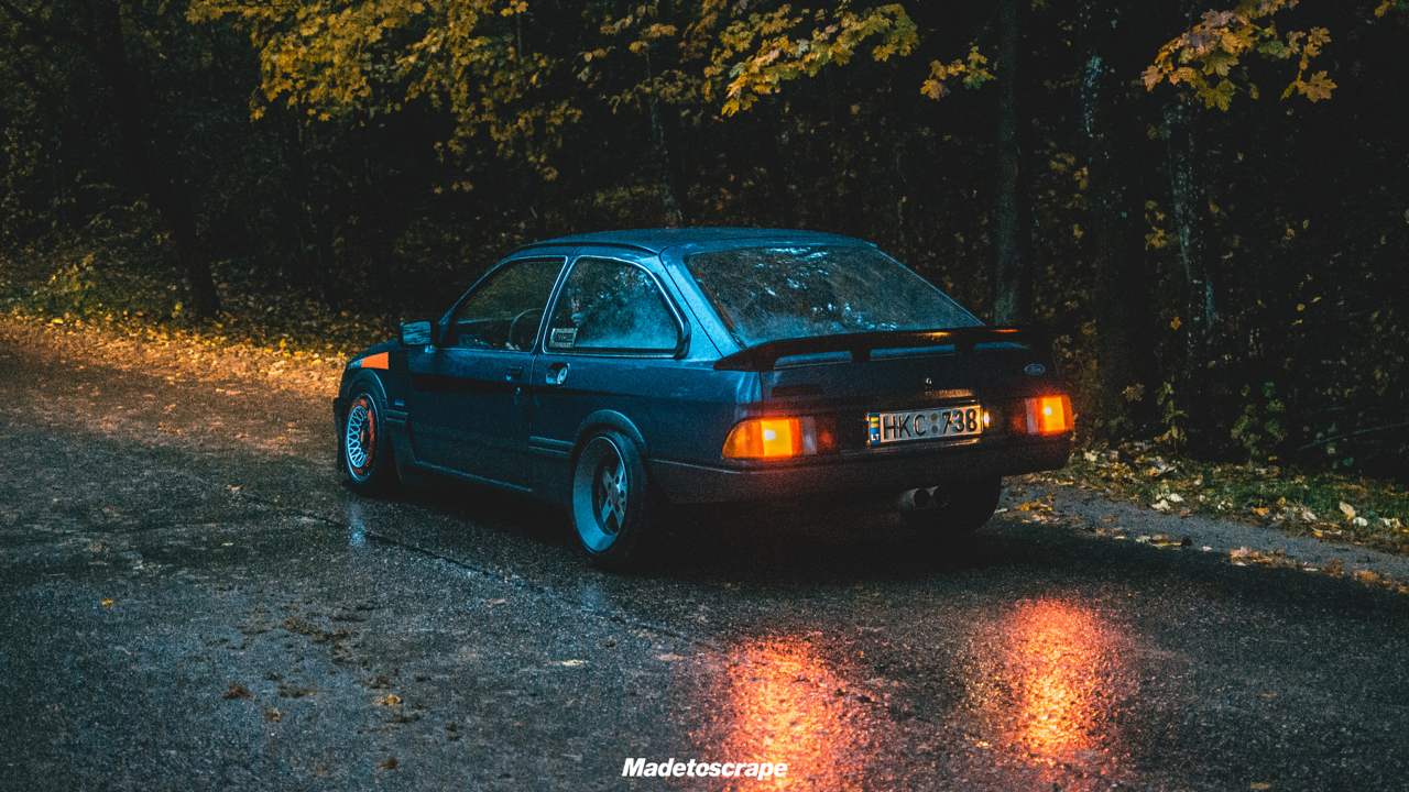 Justa '85 Ford Sierra V6 Cosworth : Bestiale ! 67