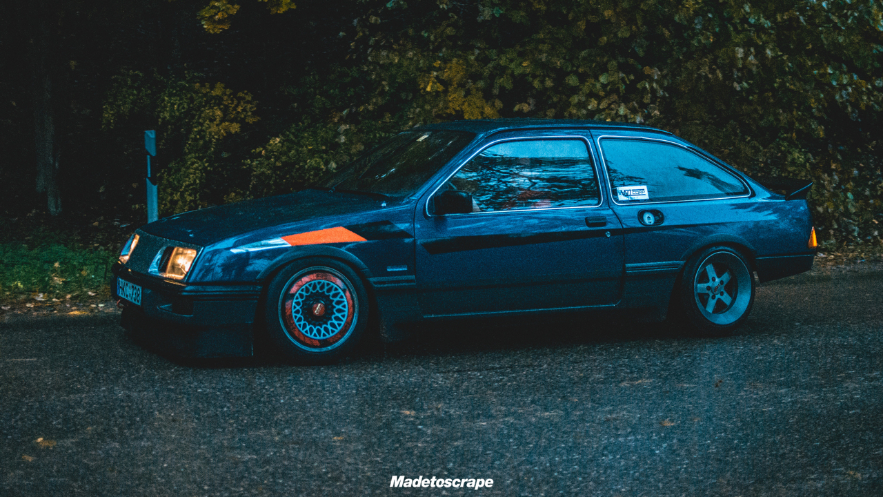Justa '85 Ford Sierra V6 Cosworth : Bestiale ! 83