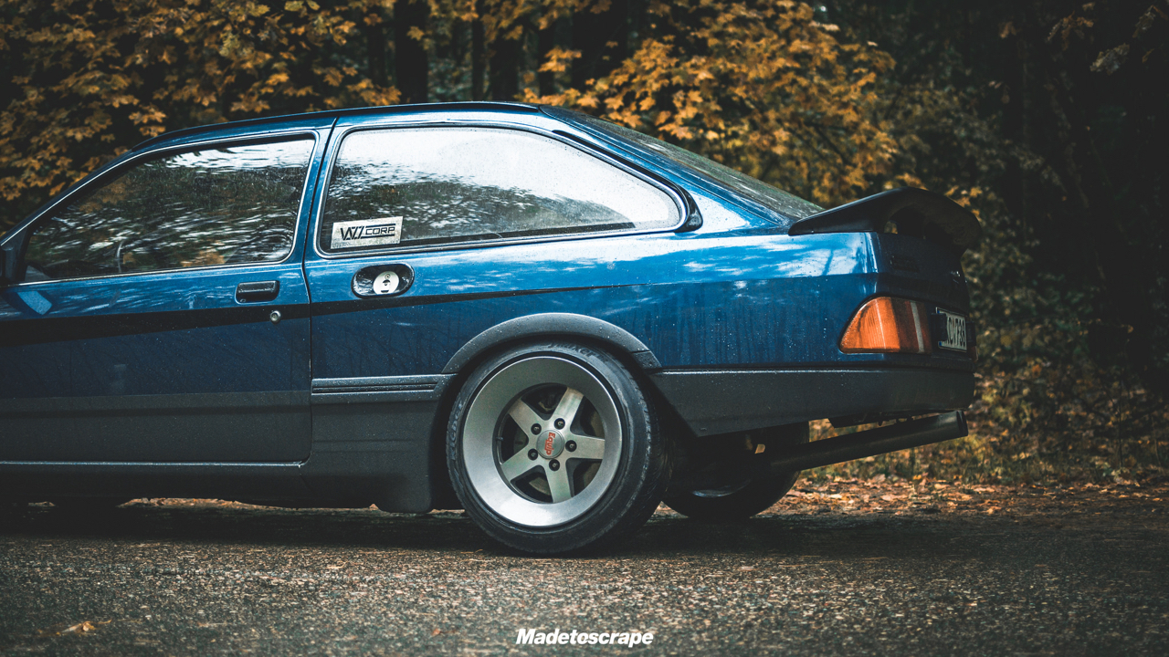 Justa '85 Ford Sierra V6 Cosworth : Bestiale ! 85