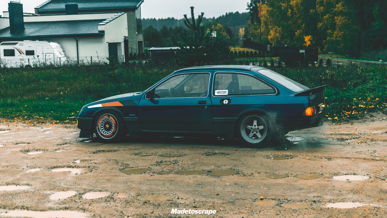 Justa '85 Ford Sierra V6 Cosworth : Bestiale ! 64