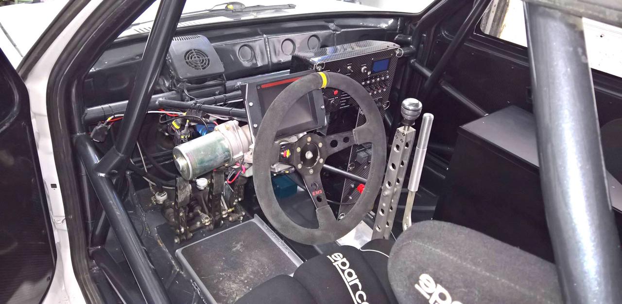 Hillclimb Monster : Une Golf II en Hayabusa turbo 4wd... C'est tout ?! 3