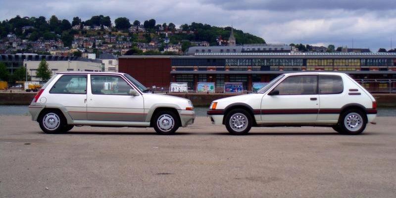 GT Turbo versus 205 GTI – Anciens Combattants