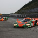 La Mazda 787B en action - De retour au Mans 20 ans après ! 6