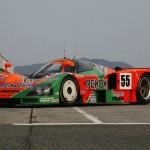 La Mazda 787B en action - De retour au Mans 20 ans après ! 1