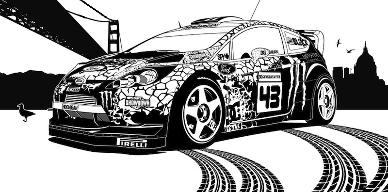 Ken Block is back : Gymkhana Six