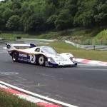 """Voyage dans le temps : le """"Nürb"""" en Porsche 956 en 6'11'' - Hommage à Stefan Bellof"""