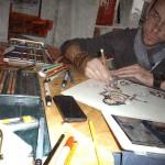 Julien McPencil Margotton - Graphikustoms - Un artiste avec de l'essence dans les veines ! 1