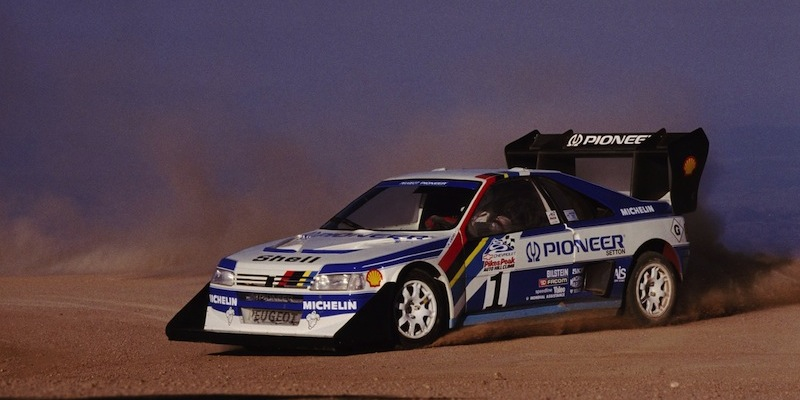 incontournable climb dance ari vatanen et la 405 t16 pikes peak dledmv. Black Bedroom Furniture Sets. Home Design Ideas