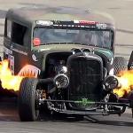 Gymkhana Hot Rod Drift !