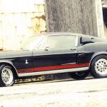 Mustang Shelby Cobra GT350 1968 - Hommage à Carroll