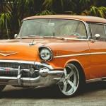 """Chevrolet Bel Air 1957 made in Forgiato - """"Orange mécanique"""""""