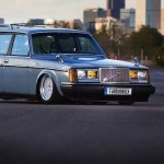 "Low Volvo 240… ""Turbobrick"" en Airlift"