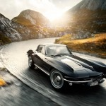 """Advantage""… Black Corvette Stingray 2"