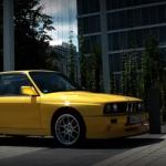 M3 E30 Evo II… Yellow Dream ! 1