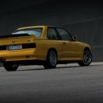 M3 E30 Evo II… Yellow Dream ! 2