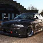 BMW M3 GTR Cartu Drifting… Smoking machine ! 2