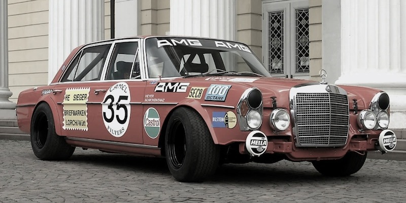 Mercedes 300 SEL 6,3 AMG – Le paquebot de course !
