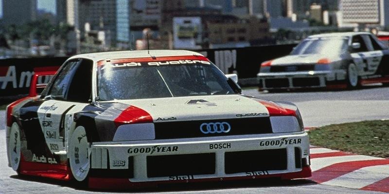 """Audi 90 GTO IMSA : """"Le monstre""""…!"""
