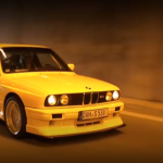 M3 E30 Evo II… Yellow Dream !